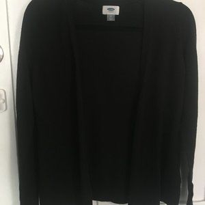 Old Navy Black V-Neck Cardigan